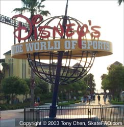 The Disney Wide World of Sports Complex sign