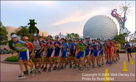 Draft line at Epcot