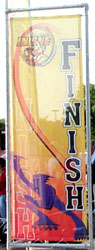 Finish line banner