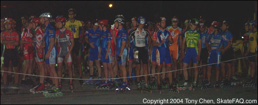 Pro men's starting line