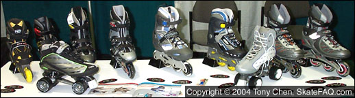 Rollerderby skates