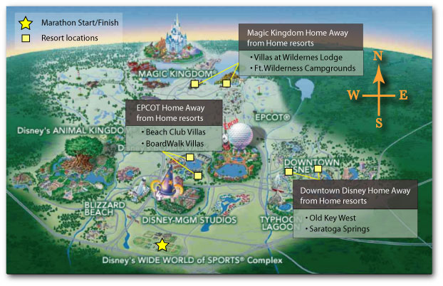 Walt Disney World Map - Animal Kingdom