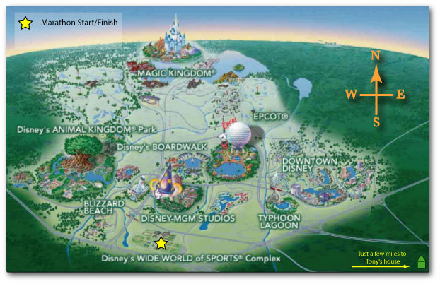 Disney World Orlando Map